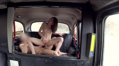 French fox named Rachel Adjani blows and rides taxi driver