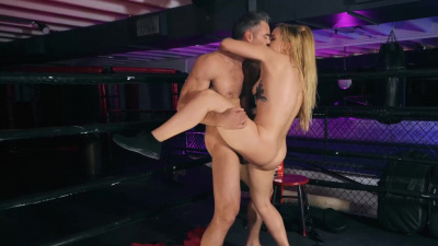 Sloan Harper is tied up in the ropes and given the pounding of a lifetime