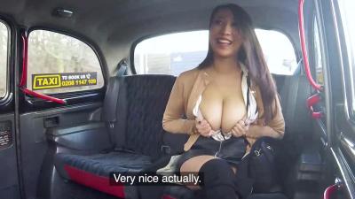 30-year-old Sharon Lee fucked hard in Fake Taxi