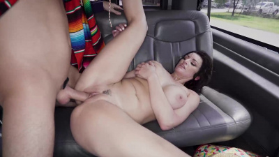 Becky Bandini got fucked very well in the bus