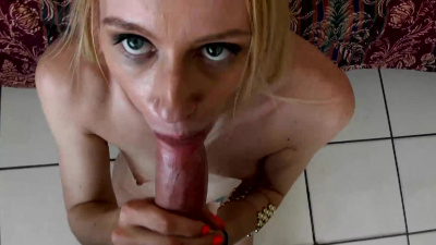 Missy James shows off her flexibility and experience in the motel