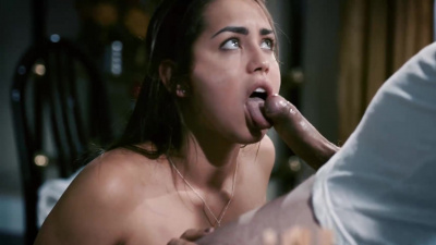 Corrupt bishop manipulates 18 year old girl Alina Lopez into sex