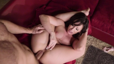 Jennifer White gets deepthroated & ass fucked by her neighbor