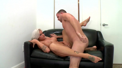 Former stripper Deadra Dee trying porn for the first time
