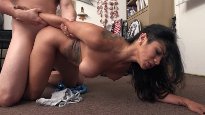 Xo Rivera gets her mouth and pussy filled with dick on her first casting