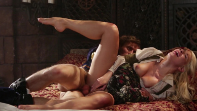 Farmer girl Anikka Albrite gets picked up and fucked by prince