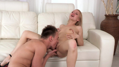 Cherry Angel gets fucked in her tight little ass nice and hard