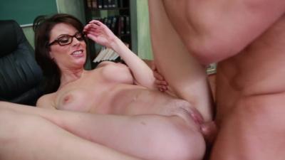 Professor Dallas favors her student's big cock