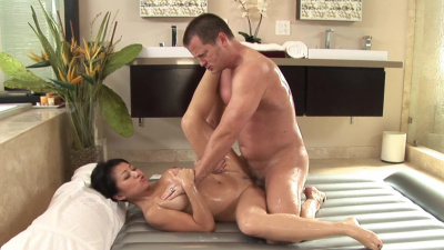 Successful businessman treated by masseuse Jackie Lin