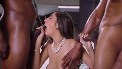 Gianna Dior will never be the same after interracial encounter