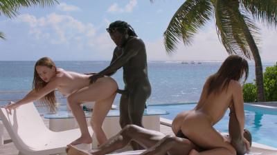Lana Roy and Kaisa Nord fuck black dudes like no tommorow