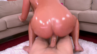 Payton Simmons intense sex with lots of oil