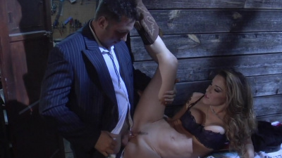 Sexy model Kayla Paige takes hard prick on her perfect cunt