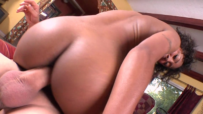 21 yr. old brown bunny Evanni Solei won't ever forget that cock