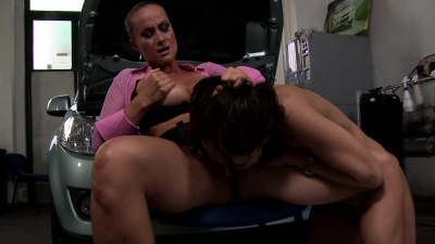 Bitch boss Andy Brown makes Katy Parker her sexual pet