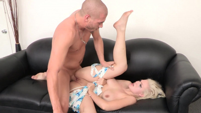 Submissive chick Jenna Ivory used on casting couch